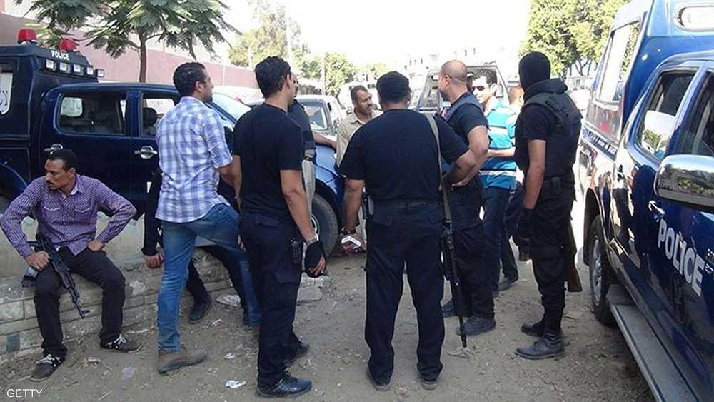 أفراد شرطة في وسط المنيا - أرشيف