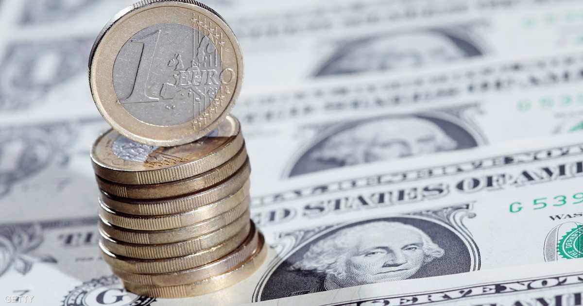 أعلى مستوى لليورو مقابل الدولار في عامين   أخبار سكاي نيوز عربية