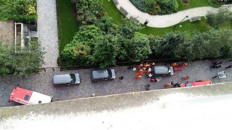 أصيب 6 جنود فرنسيين بحي لوفالوا الباريسي