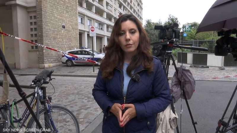 موقع اصطدام سيارة بجنود فرنسيين في باريس