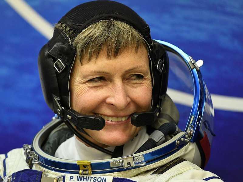 رائدة الفضاء الأميركية بيغي ويتسون