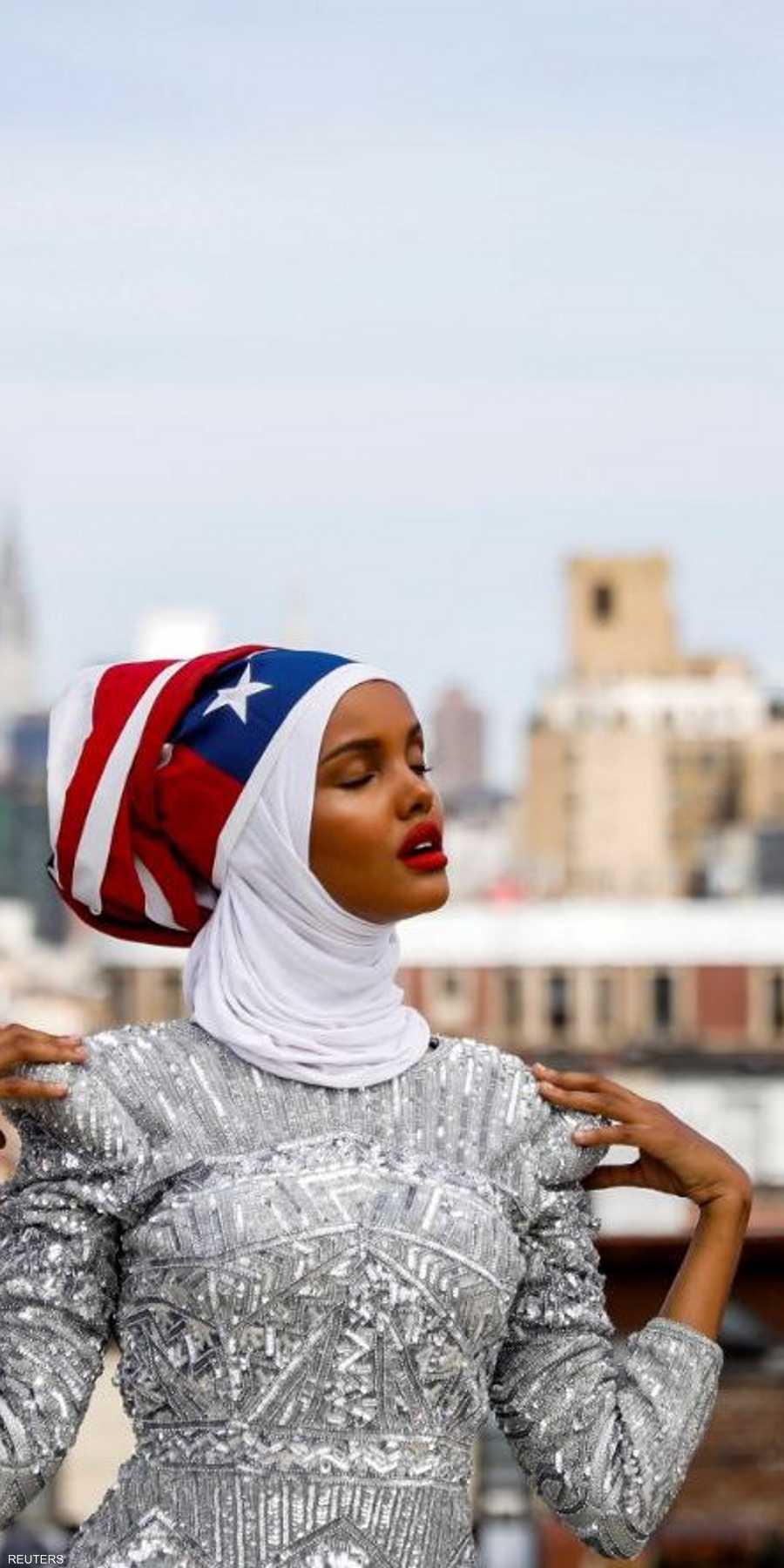f6f718460 عارضة أزياء محجبة تحطم الحواجز في عالم الموضة | أخبار سكاي نيوز عربية