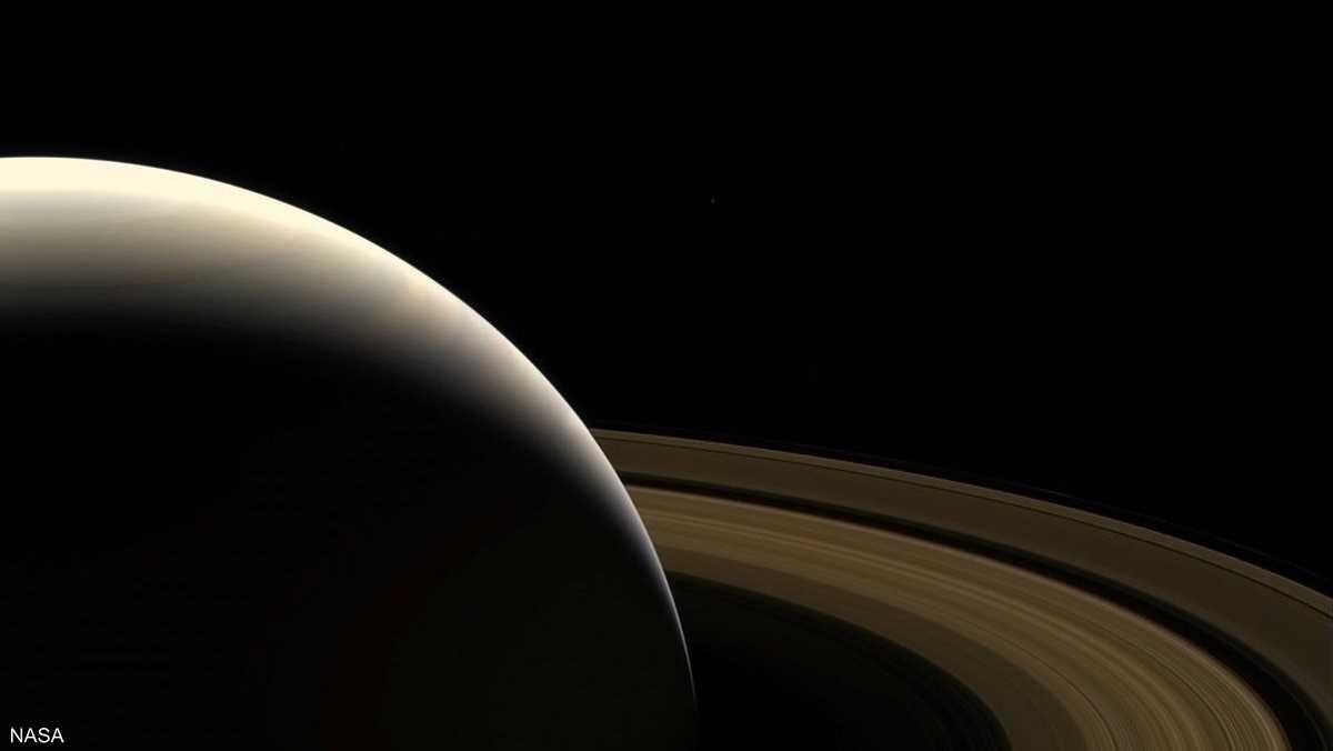 للمرة الأولى نتمكن من مشاهدة زحل، بفضل مركبة الفضاء كاسيني