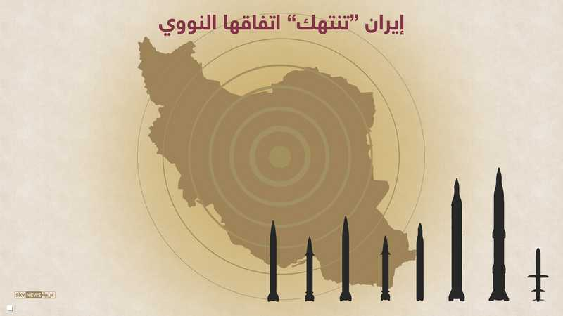 إيران مستمرة في خرق اتفاقها النووي