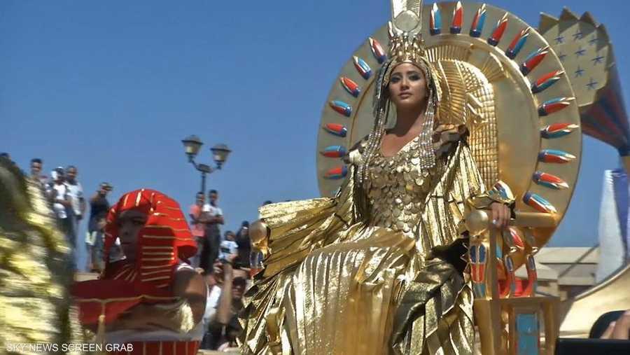 """الإسكندرية تشهد احتفالية """"حلم كليوباترا"""""""