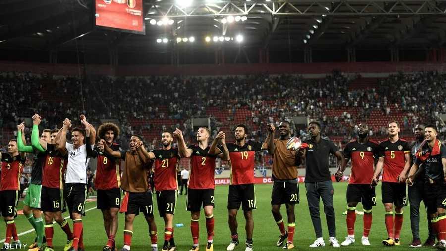 منتخب بلجيكا تألق بفضل نجومه الشباب