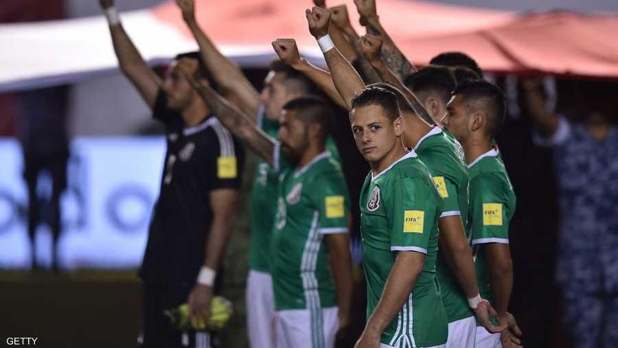 المكسيك ضيف دائم على المونديال