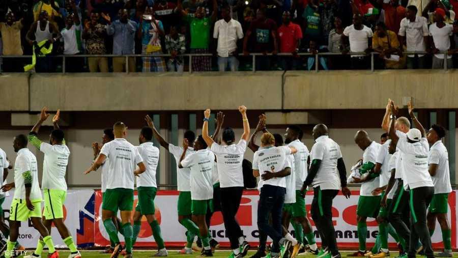 نيجيريا حسمت مجموعتها القوية بسهولة
