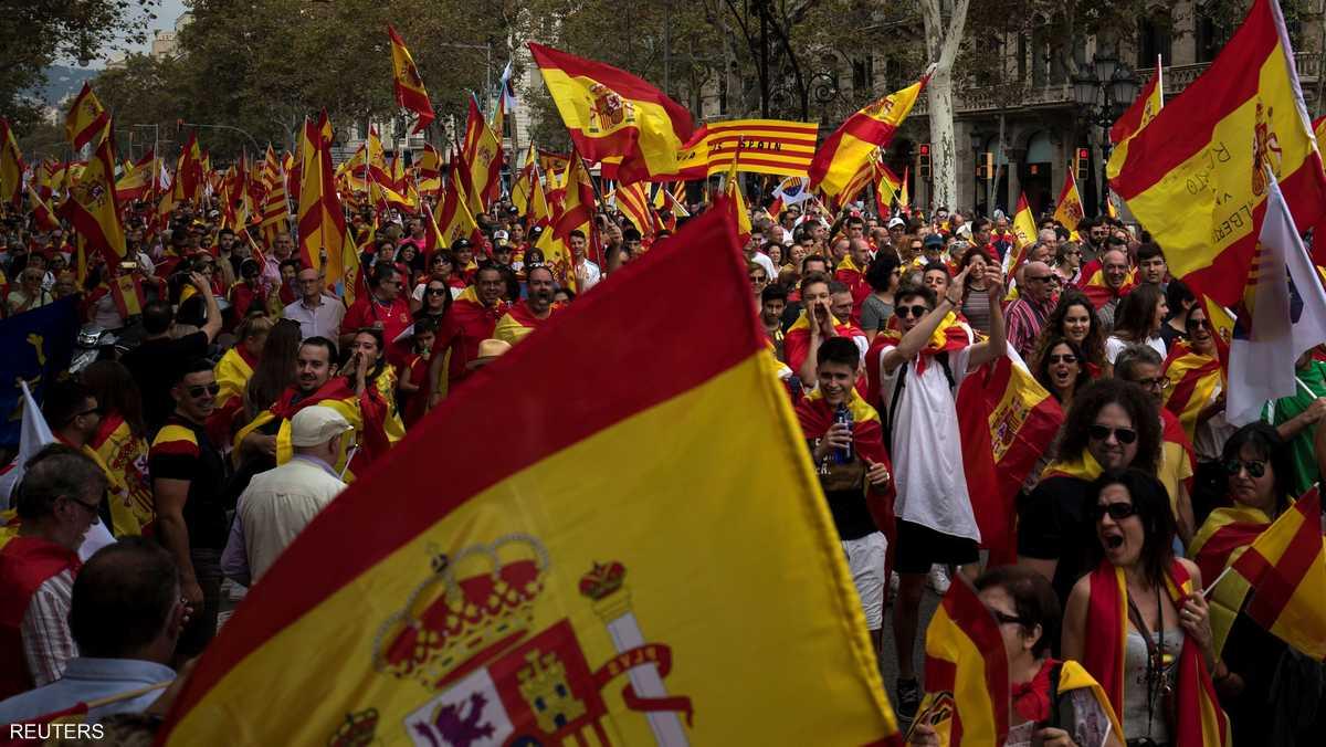 أزمة كتالونيا هي الأكبر خلال الفترة الأخيرة في إسبانيا