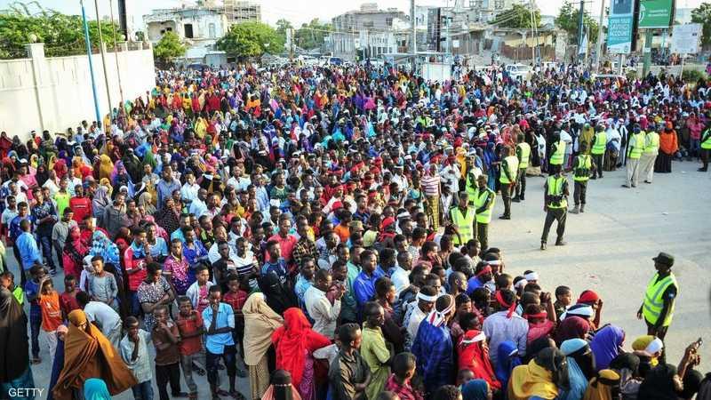 احتجاجات بعد الهجوم الكارثي