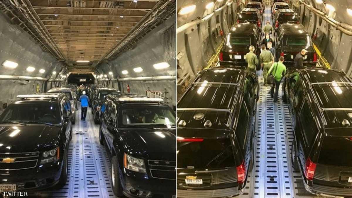 أسطول سياارت الرئيس الأميركي