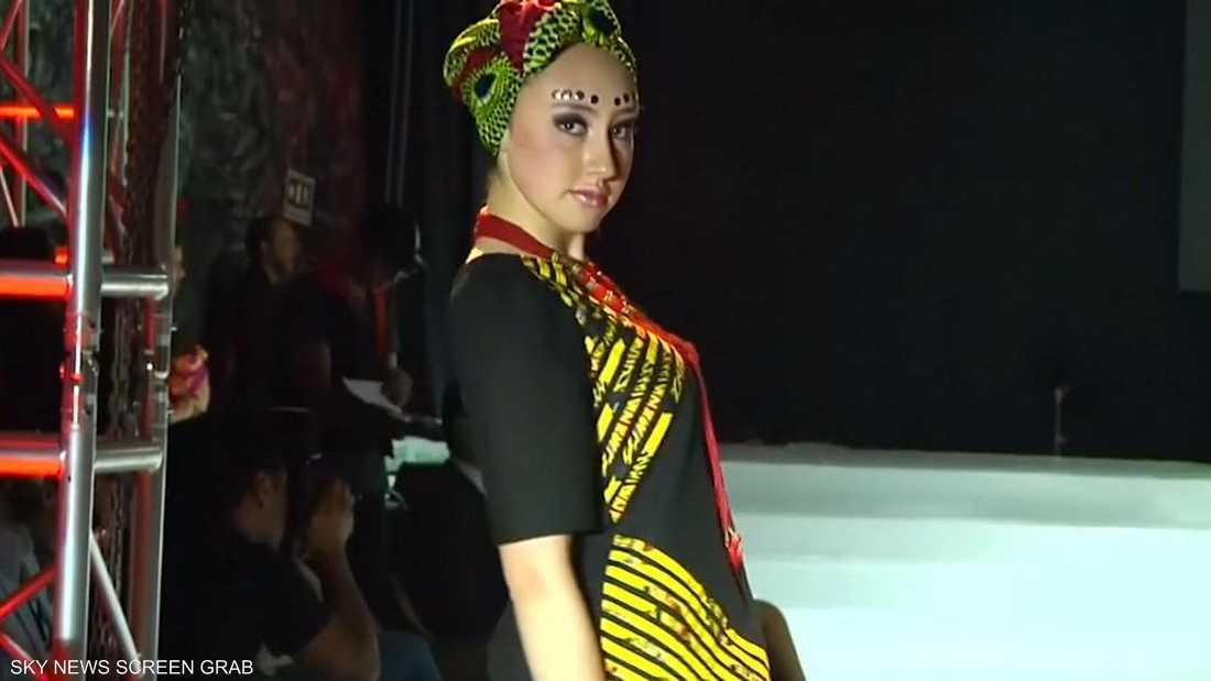 822821ac9 عرض أزياء أفريقي في كاتدرائية