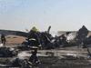 حطام المروحية العراقية في محافظة واسط