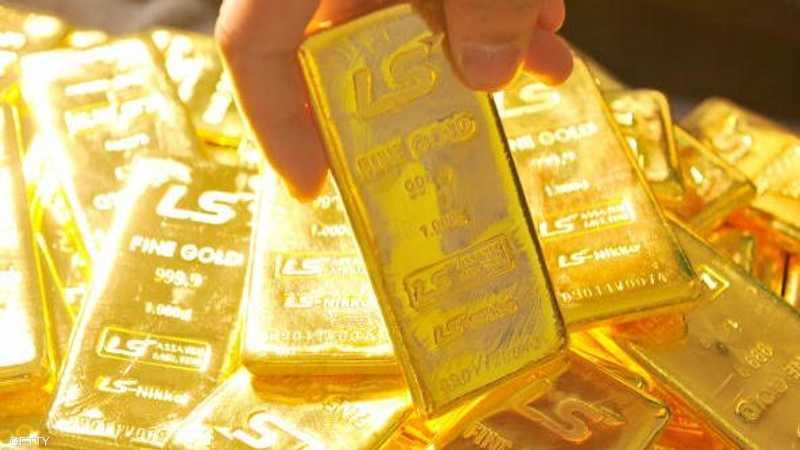 نزل الذهب في المعاملات الفورية 0.1 بالمئة