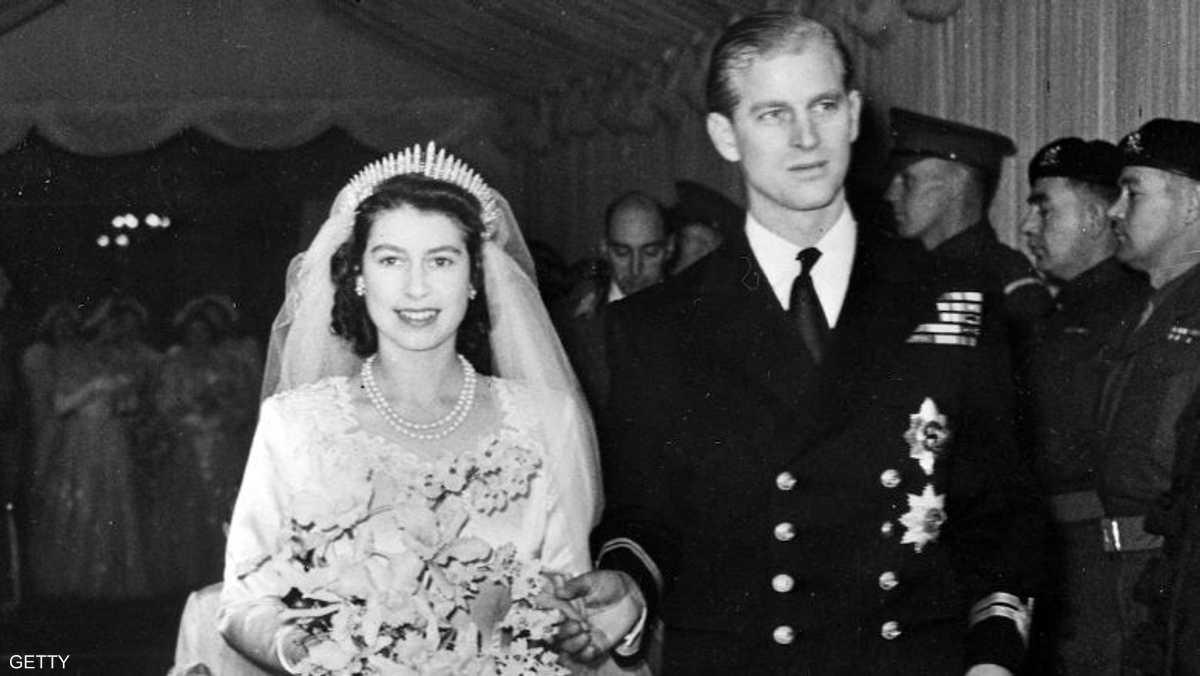 لقطة الزفاف الرسمية قبل 70 عاما