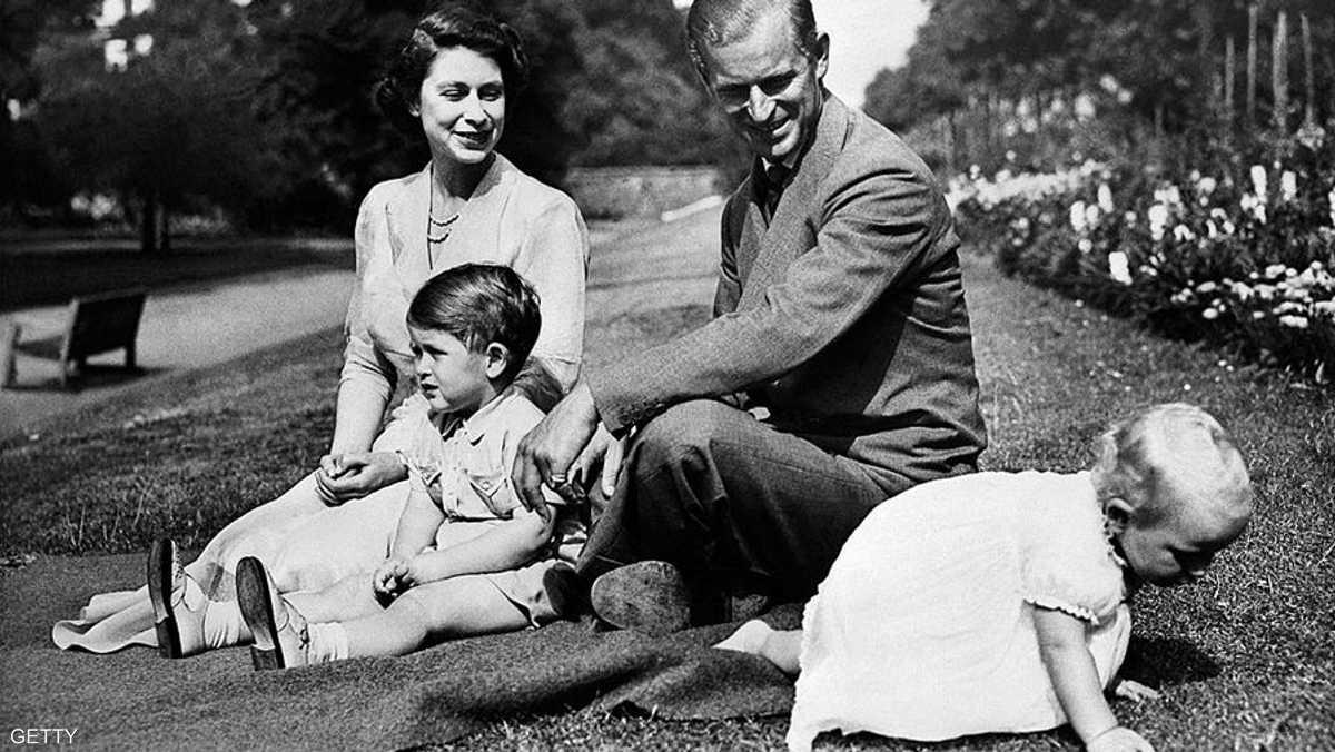 عائلة ملكية وحياة هادئة