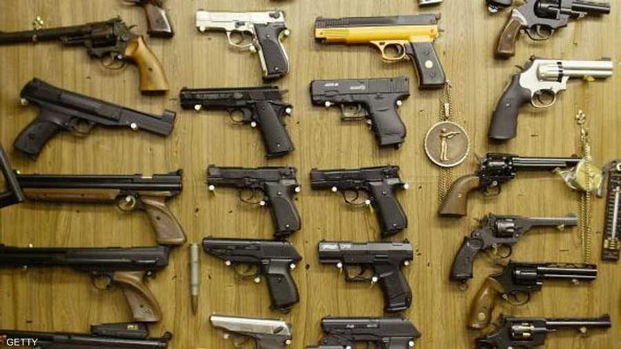 أسلحة في أميركا