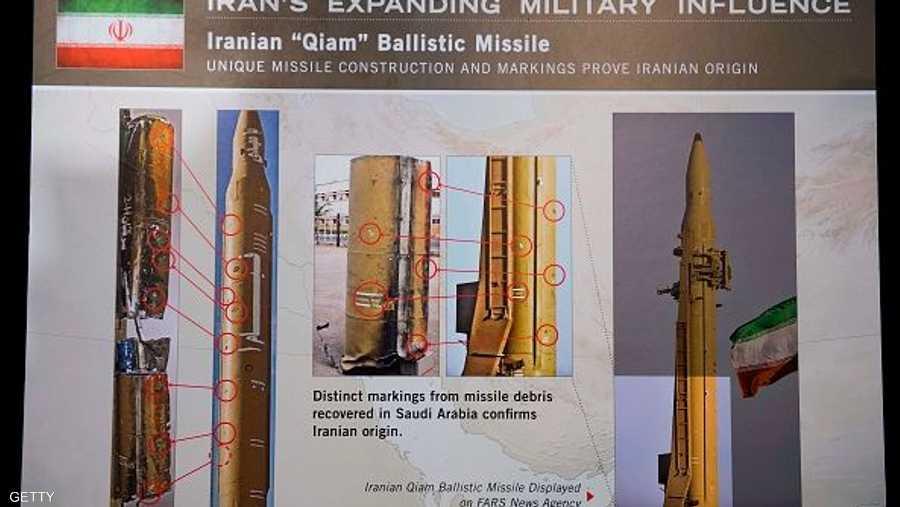 البنتاغون طابق نماذج للصواريخ الإيرانية مع أخرى استعراضية.