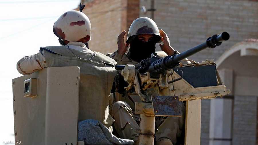الأمن والجيش في مصر يلاحقان الجماعات المتشددة بسيناء- أرشيف