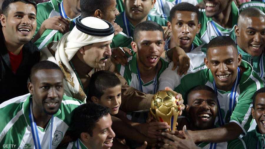 آخر لقب للسعودية كان عام 2004 في الكويت