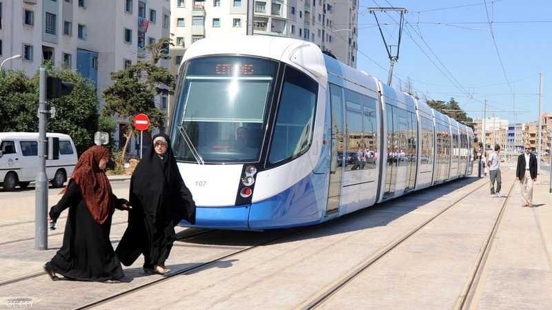 Image d'archives du tram en Algérie
