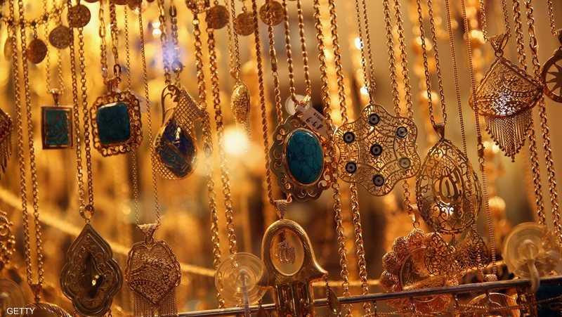 محل لبيع الذهب في أربيل بالعراق