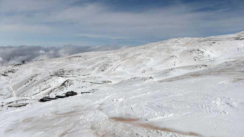 La neige dans le désert est un phénomène rare