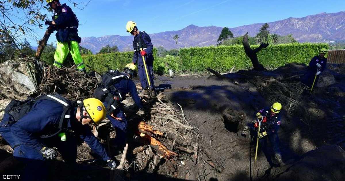 ارتفاع-عدد-قتلى-الانهيارات-الطينية-في-كاليفورنيا