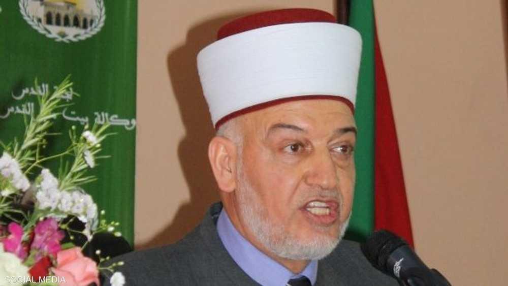 خطيب المسجد الأقصى الشيخ يوسف سلامة.