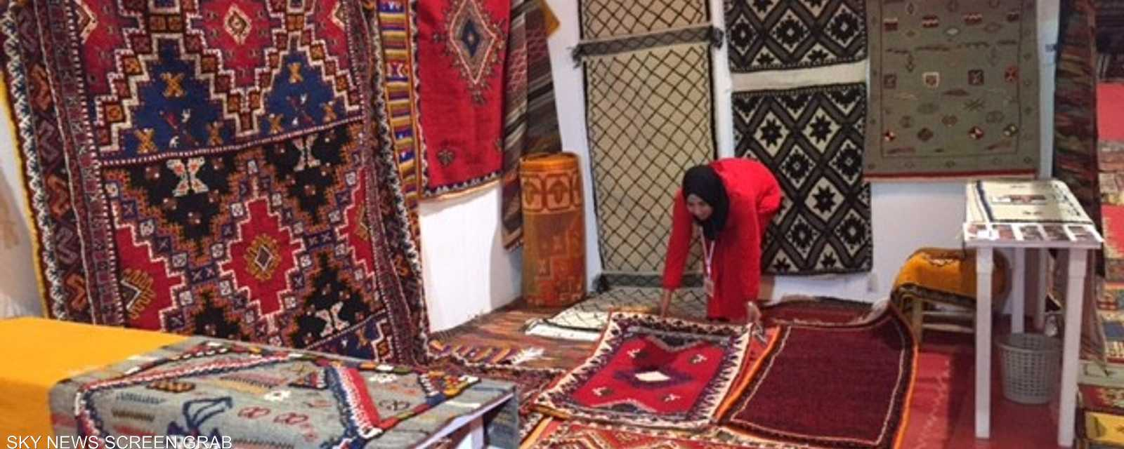 """الهدف من المعرض هو التعريف بـ""""الزربية المغربية"""""""