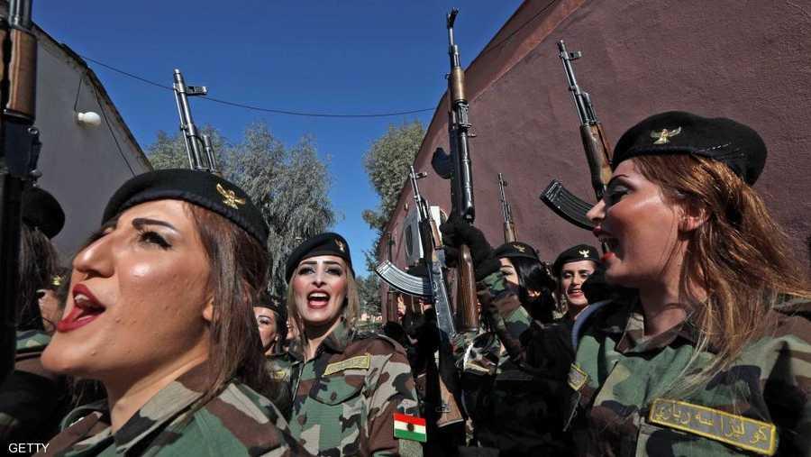 وقامت بحماية ألف كيلومتر من حدود كردستان العراق