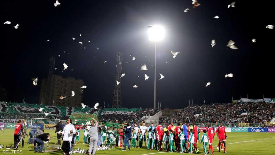 """وواجه نادي المصري البورسعيدي """"غرين بافالوز"""" بطل زامبيا"""