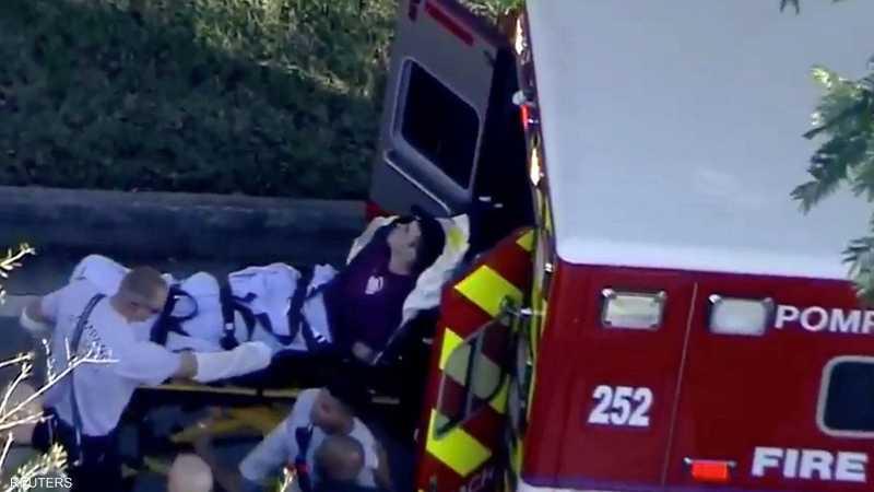 أحد المصابين في الحادثة