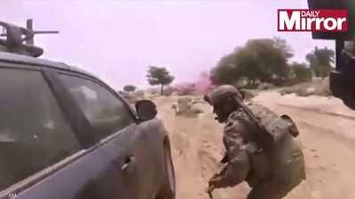 داعش ينشر فيديو لقتل 4 جنود أميركيين