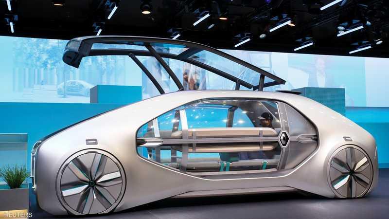 نموذج لسيارة رينو المستقبلية EZ-GO