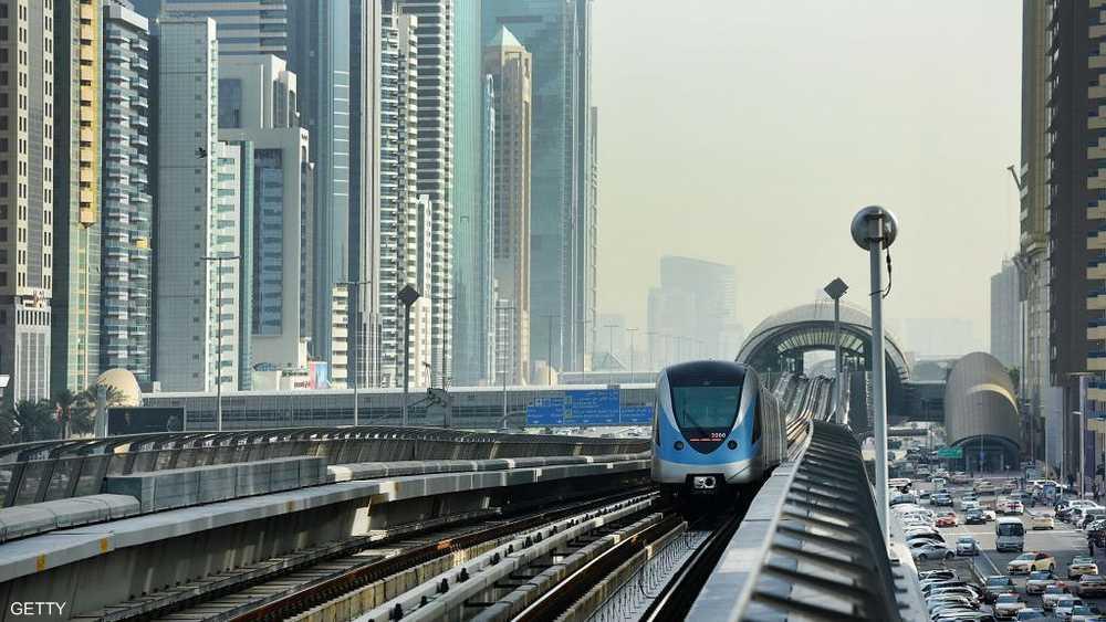 خط مترو دبي