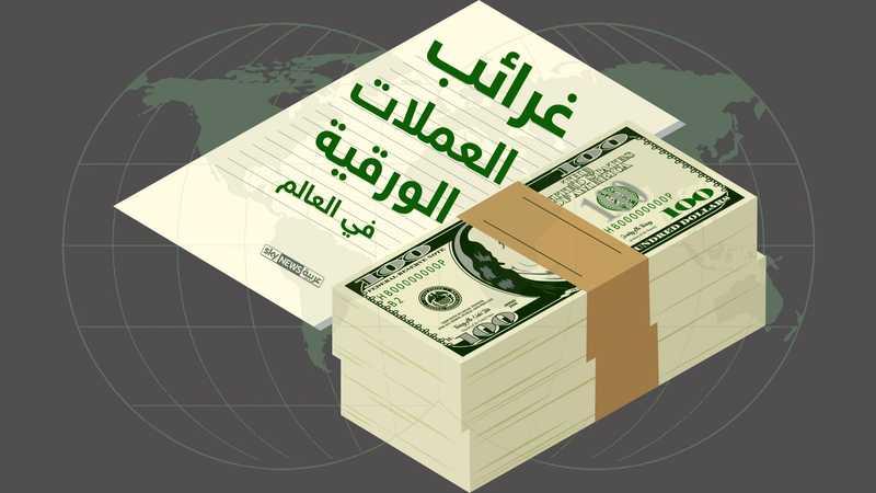 غرائب العملات النقدية الورقية