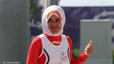عداءة إماراتية تحرز ذهبية سباق 100 متر بالأولمبياد الخاص