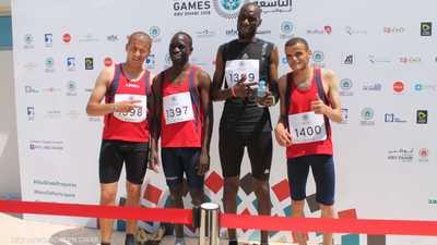 يوم ذهبي ليبي في أولمبياد أبوظبي الخاص