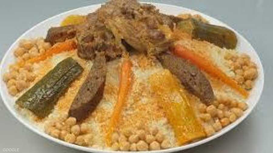 طبق كسكسي على الطريقة الجزائرية