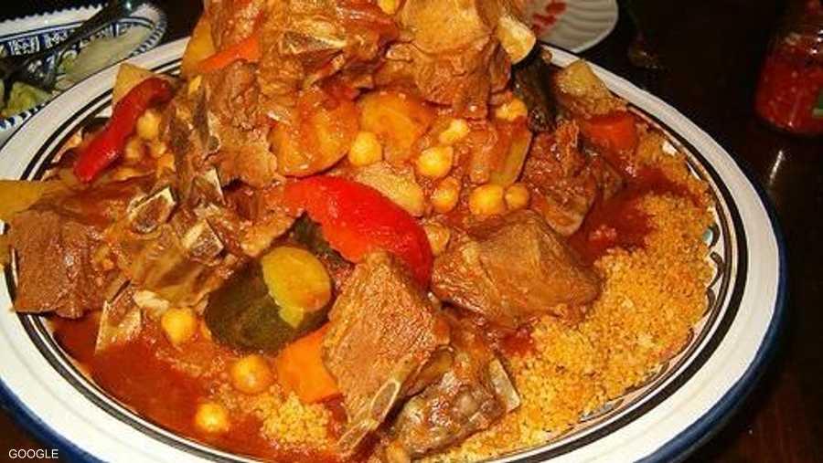 طبق كسكسي على الطريقة الليبية