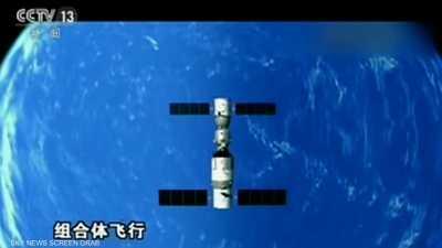 انتهاء أزمة محطة الفضاء الصينية