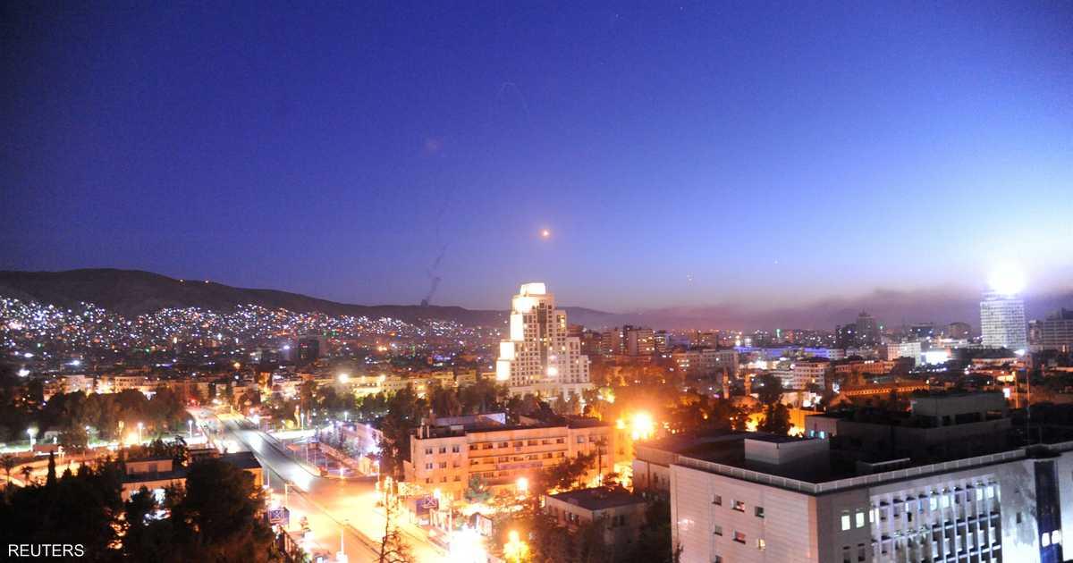 سوريا.. الدفاعات الجوية تتصدى لصواريخ في سماء دمشق