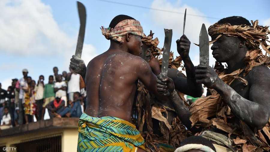 مظاهر تقليدية تعكس تراث البلد الأفريقي