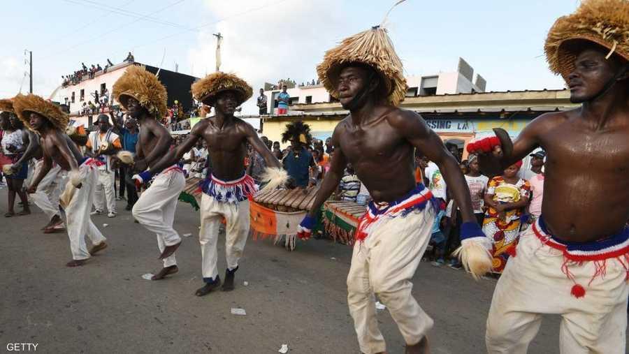 احتفالات في شوارع مدينة بونوا