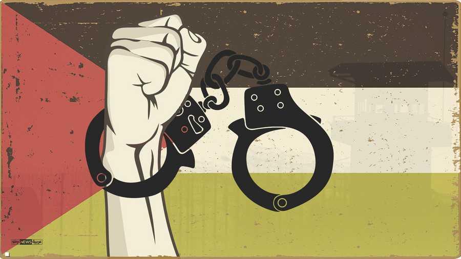 إسرائيل اعتقلت مليون فلسطيني