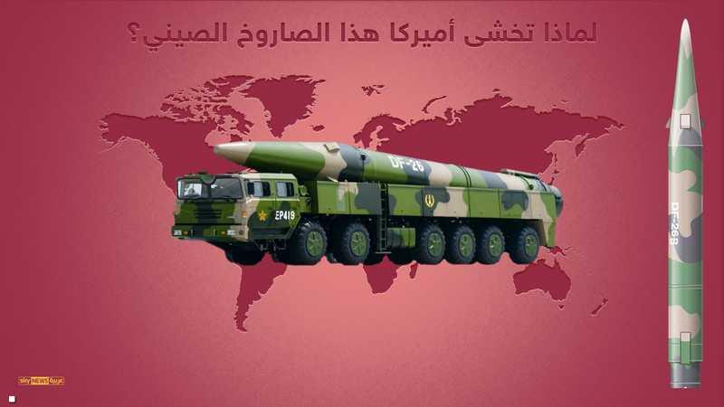 الصاروخ الصيني قاتل غوام أو رياح الشرق