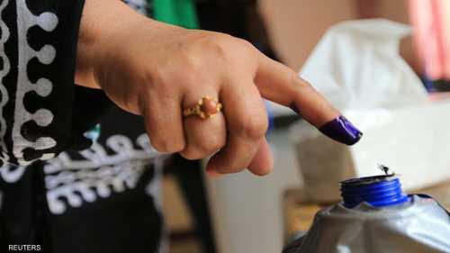 الحبر دلالة على التصويت
