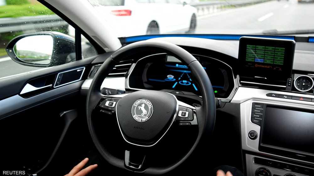"""""""تحذير جديد"""" السيارات ذاتية القيادة"""