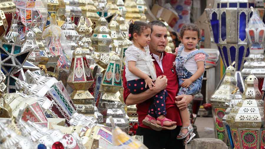 الفوانيس تراث أصيل من رمضان مصر